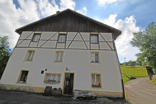 Ancienne petite ferme pour artisan ou bricoleur à rénover