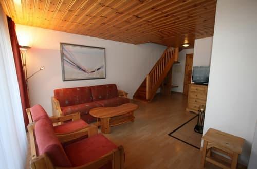 Magnifique appartement de 3 pièces au centre du village avec belle vue sur la vallée