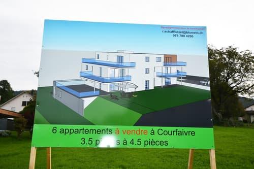 Appartement agréable à vivre dans nouvelle PPE avec terrasse ou balcon