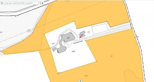 Terrain situé à 15 minutes de Neuchâtel