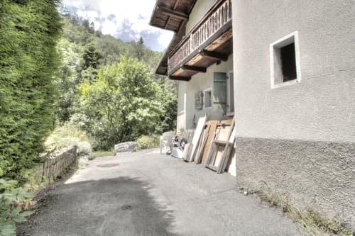 Nendaz/Beuson maison villageoise à rénover + appartement 3.5 pces