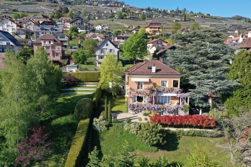 Magnifique propriété de 1931 à Corseaux/Vevey avec vue sur lac