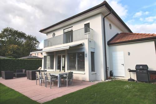 Récente villa individuelle au calme, Tannay