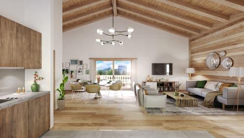 Très bel appartement de standing 4.5 p. 125 m2,  terrasse et balcons