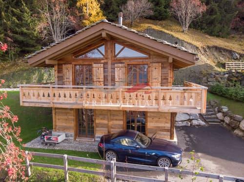 Ski-in/out chalet for rent in Haute-Nendaz 4 Valleys