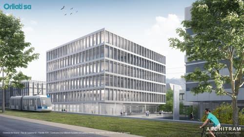 Nouvelle aire de services - Surfaces aménagées de 316 à 3'100 m2