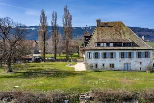 Une exclusivité Cardis Sotheby's! Domaine historique unique en Suisse!