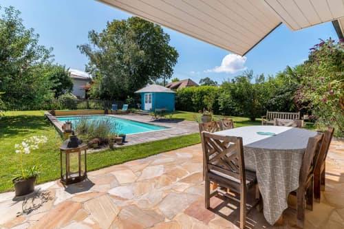 Terrasse, jardin et piscine