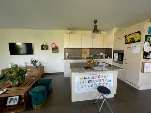 Bel appartement de 3.5 pièces au rez-de-chaussée