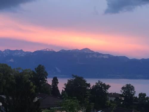 Beau duplex de 2,5 pièces au centre de Lausanne avec vue sur le lac