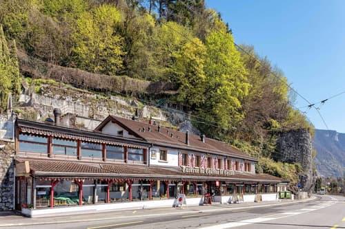 Restaurant La Taverne du Château de Chillon à vendre à Veytaux