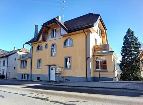 Immeuble locatif de 4 appartements + 1 studio