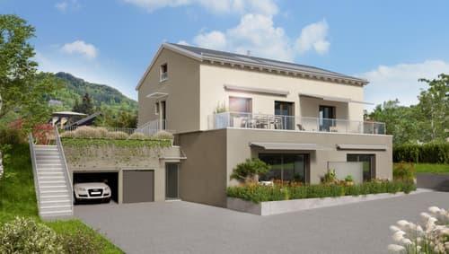 Rare à la vente ! Appartement neuf belle vue lac, jardin privatif, terrasse et balcon