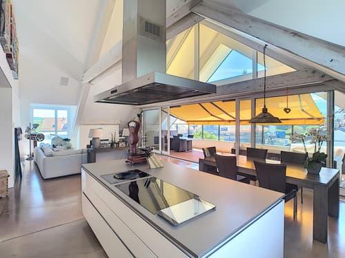 Magnifique attique en duplex avec belles prestations