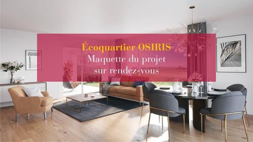 Nouvel Ecoquartier - appartement de 3,5 pièces au rez