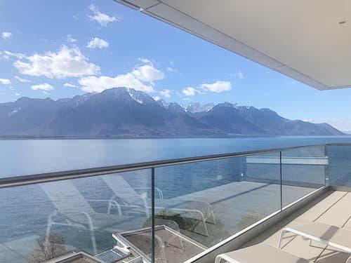 UNIQUE ! Appartement meublé avec vue panoramique sur le lac
