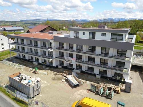 Spcacieux logement en cours de construction