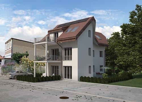 Immeuble neuf de 3 appartements à 5 km d'Avenches