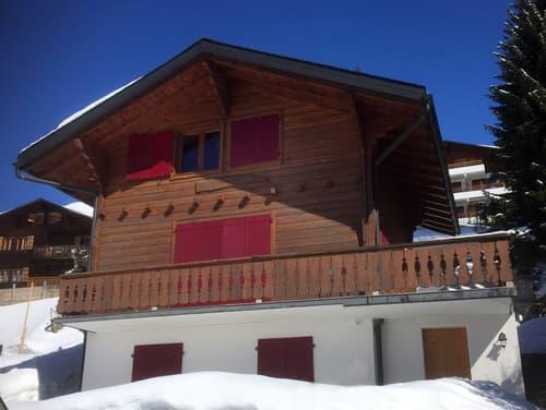 Chalet ski in ski out au pied des pistes 50 mètres de Médran 