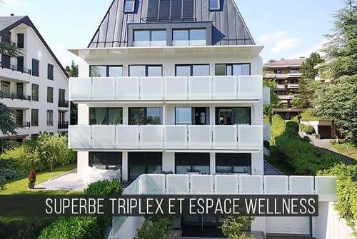 Superbe quadruplex de haut standing // Résidence Pully