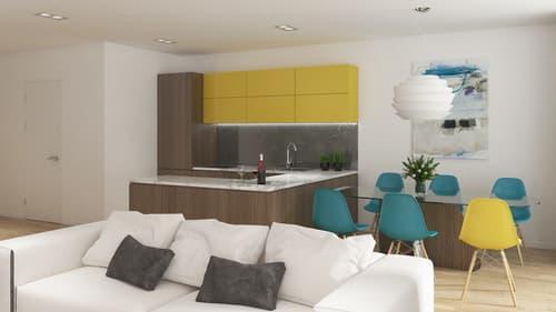 Bel appartement dans résidence à SAXON // LE FARINET // 2 1/2 pièces