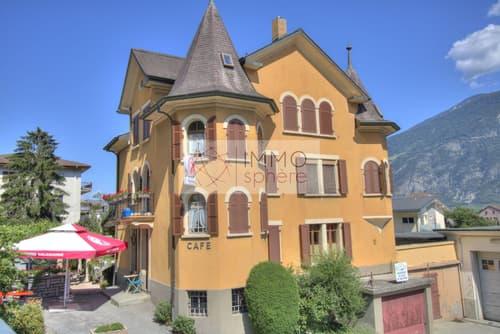Relais d'Ovronnaz - bâtisse historique
