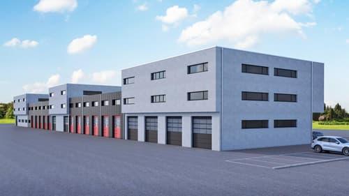 Halle industrielle à Collombey, lot E 30