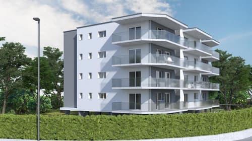 Appartement à Bex 1,5 pièces proche de la gare au 3 ème étage