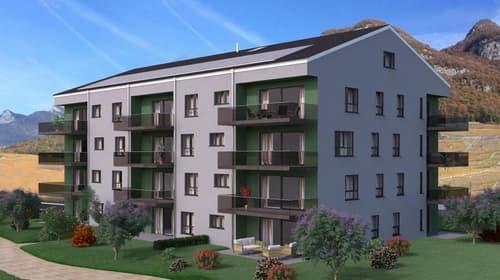 Résidence les Ormonts à Aigle 4,5 pièces avec balcon sud-est