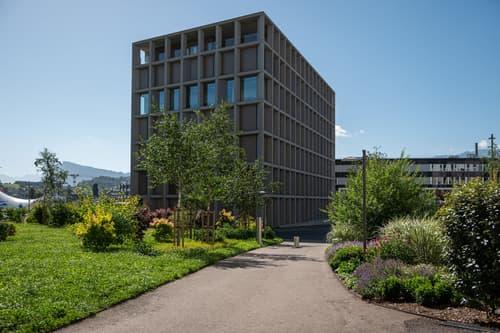 Repräsentatives Gebäude im Schweighof
