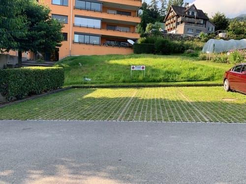 Aussenparkplätze an zentraler Lage