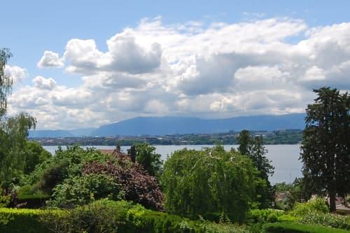 VESENAZ - Magnifique terrain vue lac