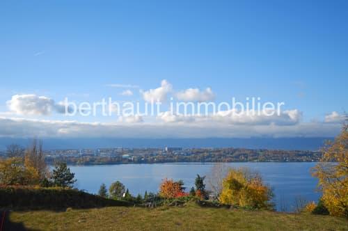 COLOGNY - Magnifique parcelle avec vue lac panoramique