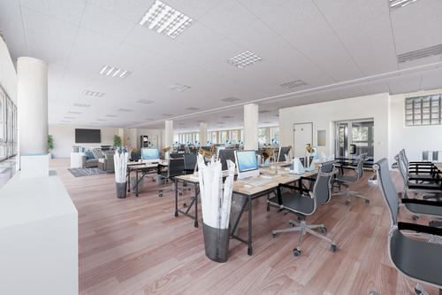 Quartier de Sébeillon – 418 m2 de surfaces de bureaux