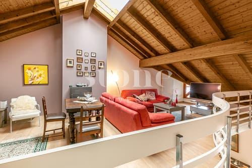 Superbe attique duplex avec pk !