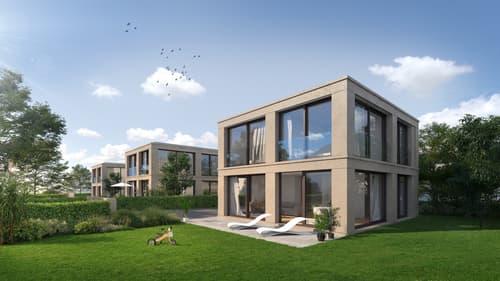 Plan-les-Ouates, Projet de 3 villas individuelles THPE