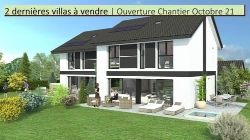 Reste 2 villas. Volume, lumière, jardin : le choix d'1 nid champêtre