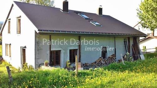 Spacieuse maison villageoise individuelle, rénovée, avec potentiel pour créer un appartement supplémentaire