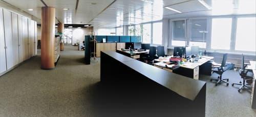 Vos bureaux de 775 m2 en duplex avec vue sur lac à Renens