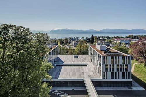 Sur un site magnifique, bâtiment Green Property, vos bureaux 440 m2 à louer à Morges