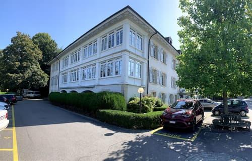 Dans un magnifique parc, bel immeuble de caractère, 2'188 m2 à louer à Lausanne (1)
