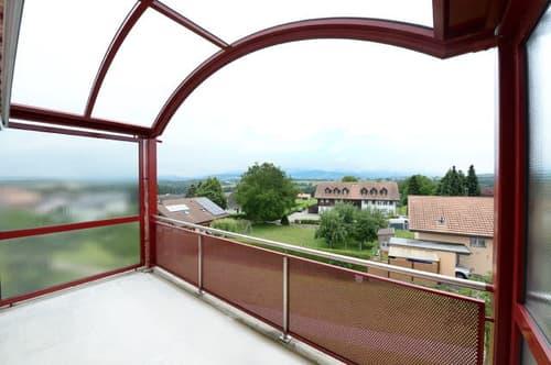 Superbe appartement 4.5 pièces / 3 chambre / Balcon / Belle vue