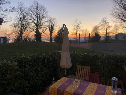 Magnifique appartement de 4.5 pièces / terrasse avec vue lac