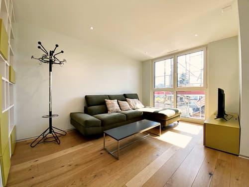 Magnifique 2,5 pièces meublé avec goût / Garage / Balcon