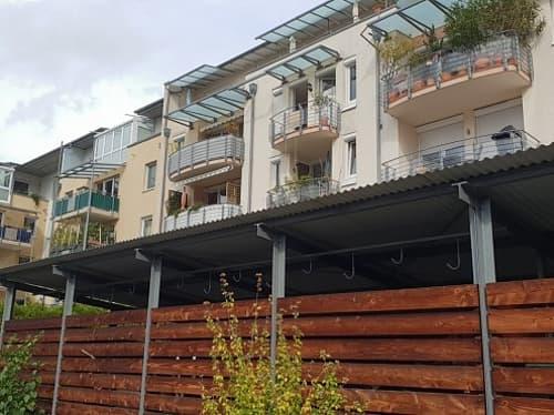 Réf: 9832*** Freiburg im Breisgau/Allemagne: Très beau maisonnette en Duplex env. 87 m²