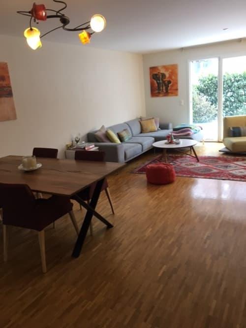 Bel appartement duplex rez-jardin -étage (1)