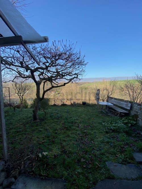 Belle maison villageoise avec fort potentiel de rénovation - accès privatif aux berges du Rhône !