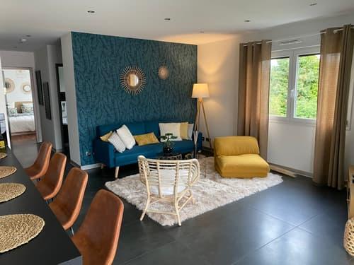 Suberbe F3 78.5m2 meublé avec terrasse de 45m2 plein sud à Blotzheim
