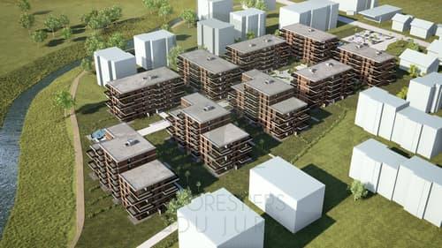 Résidence du Parc de la Sorne - appartements de 2,5; 3,5 et 4,5 pièces