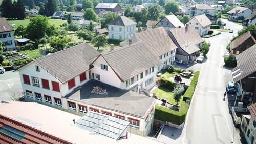Immeuble de rendement mixte à Vendlincourt